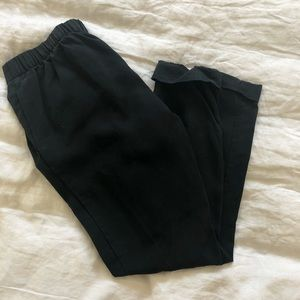 Gap Relaxed Ankle Black Trousers.